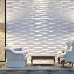 PVC 3D Wall Panel, For Walls