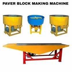 Automatic Interlocking Tile Making Machine