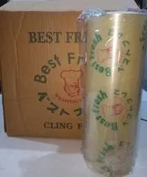 Own White Cling Film, Packaging Type: Roll, 80 - 120
