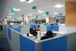 Plywood Office Interior