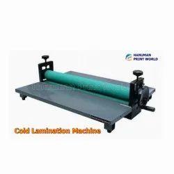 Cold Laminating Machines