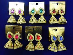 Designer Artificial Ethnic Jhumki Earrings