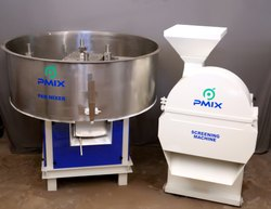 Steel Detergent Powder Mixer, Capacity: 10 Kg To 1000 Kg