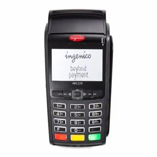 Portable Ingenico Card Swipe Machine, 12-24 V