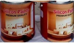 Silicon Paints Matt HR silver Paint Aluminium 500 degree, For Industrial