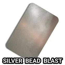 Stainless Steel Silver Bead Blast Sheets