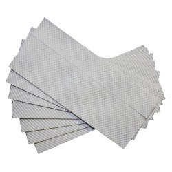 Rectangular Soft C Fold Tissue Paper, Ply: Two Ply