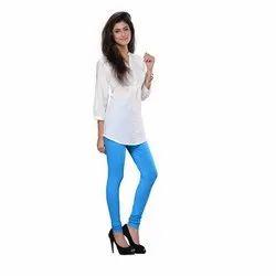 Cotton Armo Ladies Seamless Plain Legging, Size: Free
