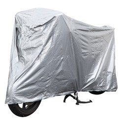 Silver HDPE Waterproof Bike Cover, 110 to 400 GSM