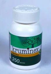 Natural Herbal Anthelmintics - Kruminex Tablets
