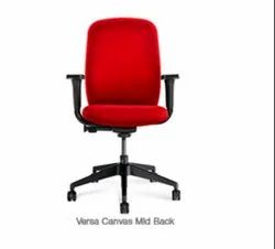 Fabric Office Chair - Versa Canvas Mid Back
