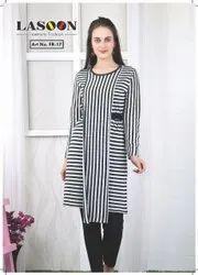 6035 Designer Woolen Kurtis
