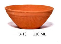 Mittikala Red Use and Throw Bowl
