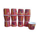 Paper Coffee Printed Disposable Cup, Packet Size: 100 Pieces