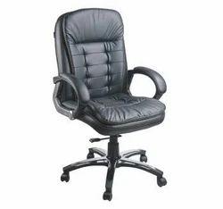 Swivel Revolving Leatherette Chair