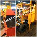 Concrete Mixer Hopper and Lift