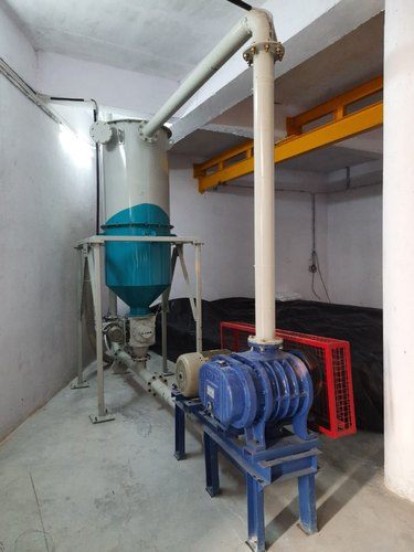 Material Transfer System with SILO