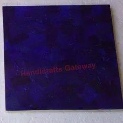 Natural Semi Precious Lapis Lazuli Tile