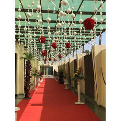 Decorative Wedding Flower Ceiling Tent
