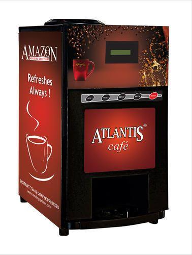 Atlantis Cafe Plus 4 Lane Hot Beverage Vending Machine at ...