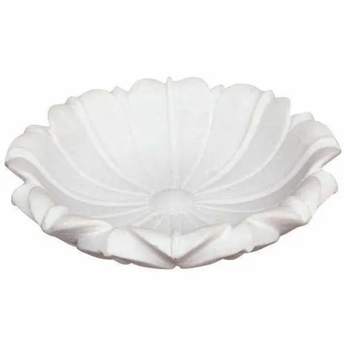 Indoor Carved Marble Bowl