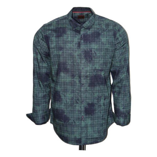 Ivory Party Wear Mens Printed Shirt