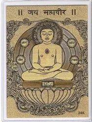 Mahavir - 24K Gold Wallet Card
