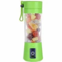Stainless Steel Multicolor 4 Blades Portable USB Electric Juicer, 220 V, Capacity: 380 Ml