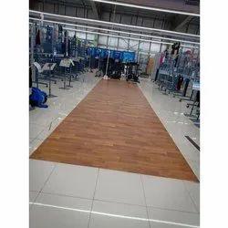 Brown Office PVC Flooring, Packaging Type: Roll