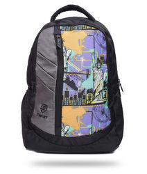 Printed Free Size Backpack