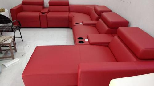 Red Recliner Sofa