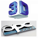 Gloss Finish Kromex 3D Logo