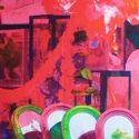 Mirror Canvas Cushion Cover