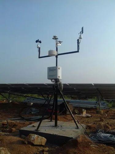 Solar Radiation Sensor Weather Monitoring Station For