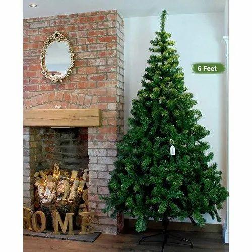 Green 6 Feet Artificial Christmas Trees