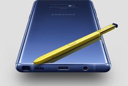 Blue Samsung Galaxy Note9 Smartphone