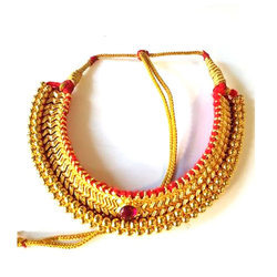 Golden Ladies Thushi Necklace