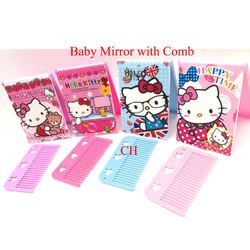 Kids Mirror and Comb Set