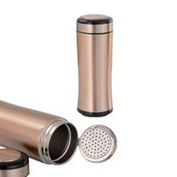 Gold Water Flask