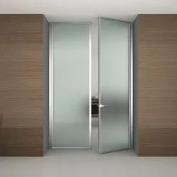 Hinged Frosted Interior Glass Door