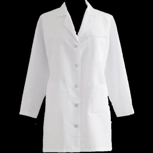 Girls Polyester Cotton Lab Coat Siddhi Vinayak Enterprise Id
