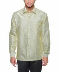 Mens Pure Silk Shirt