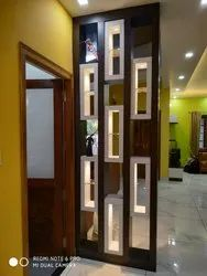 self Modern Living Room Partition, For Home, Straight