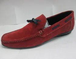 男士驾驶鞋绒面革弹簧/秋季乐福鞋和防滑棕色/绿色/蓝色/蝴蝶结