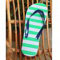 Multicolor Men Printed Slippers