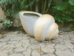 Shell Garden Planter