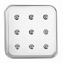 ABS Mist Square Overhead Shower