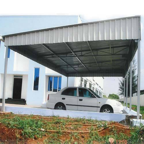 Galvalume Sheet Vehicle Parking Shed Rs 200 Square Feet