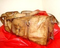 Genuine Leather Duffel Travel Bag