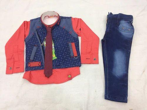 42cec69141f Denim Suit for kids - Denim Half Suit Manufacturer from Kolkata